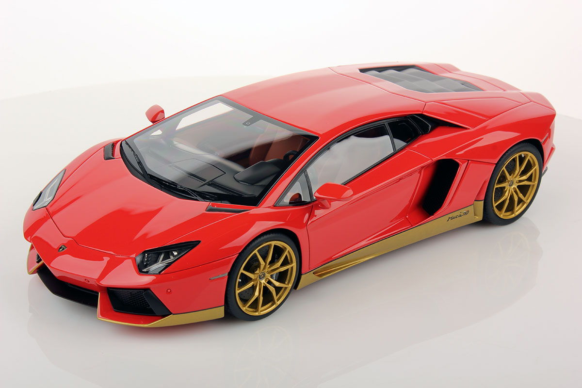 Lamborghini Aventador Lp 700 4 Miura Homage By Mr Collection 1 18 Scale Choice Gear