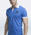 Maserati Anselm Blue Short Sleeve Polo Shirt by La Martina