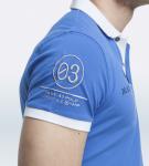 Maserati Anselm Blue Short Sleeve Polo Shirt by La Martina 3