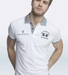 Maserati Anselm Short Sleeve Polo Shirt by La Martina 2