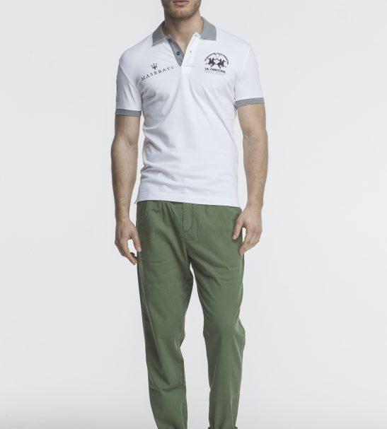 Maserati Anselm Short Sleeve Polo Shirt by La Martina