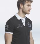 Maserati Anselm White Short Sleeve Polo Shirt by La Martina 3