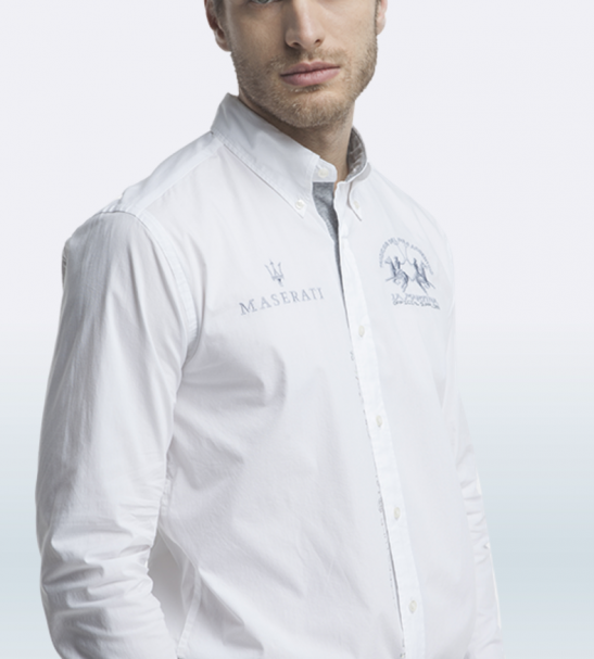 Maserati Arden Long Sleeve Shirt by La Martina 2