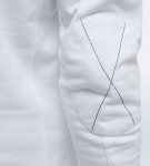 Maserati Ralf White Long Sleeve Polo Shirt by La Martina 3