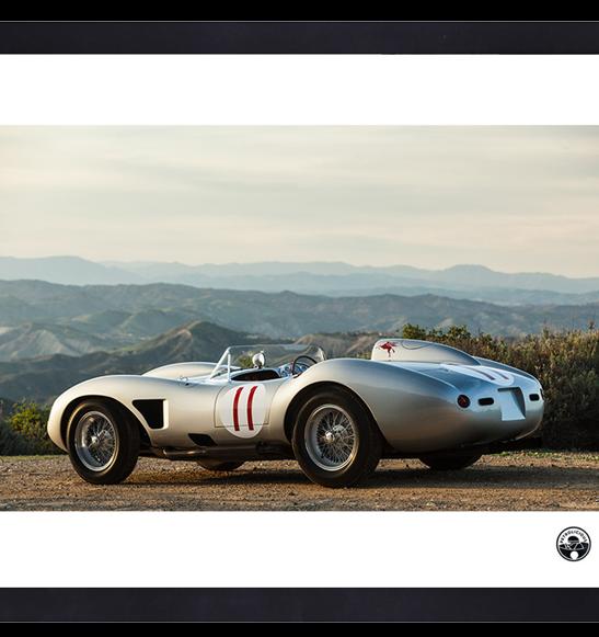 Official Premium Print – Ferrari 625:250 TRC by Petrolicious