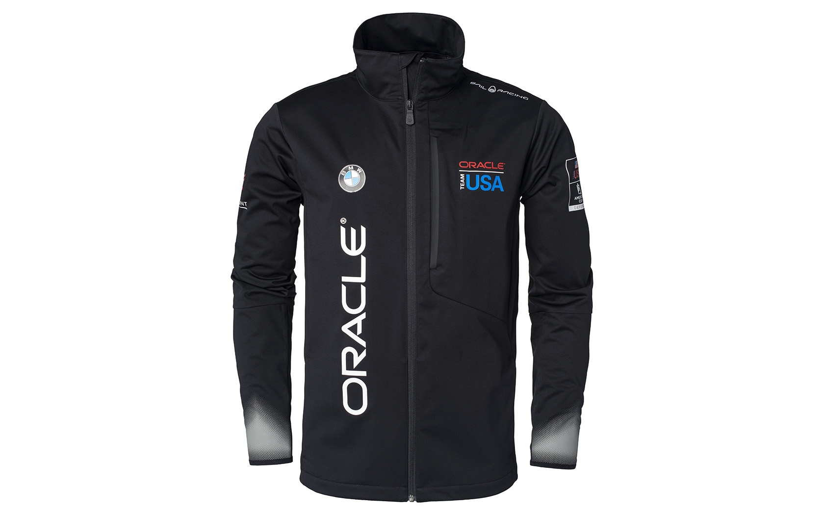 Oracle Team Usa Softshell Jacket Sail Racing on electric work benches