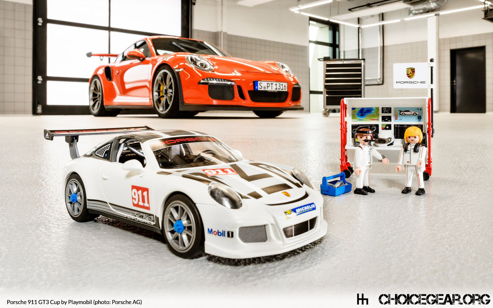 Playmobil Porsche 911 Gt3 Cup Choice Gear