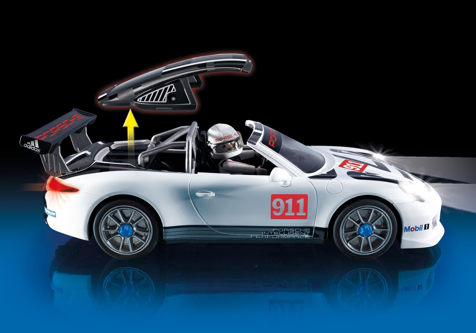 porsche 911 gt3 cup by playmobil choice gear. Black Bedroom Furniture Sets. Home Design Ideas