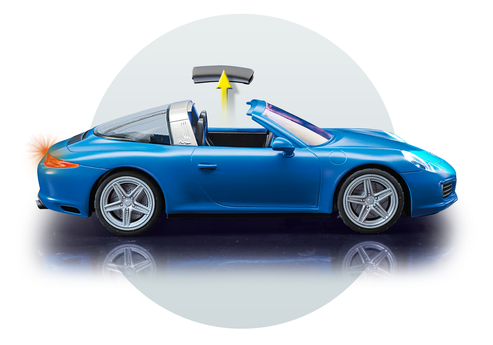 porsche 911 targa 4s by playmobil choice gear. Black Bedroom Furniture Sets. Home Design Ideas
