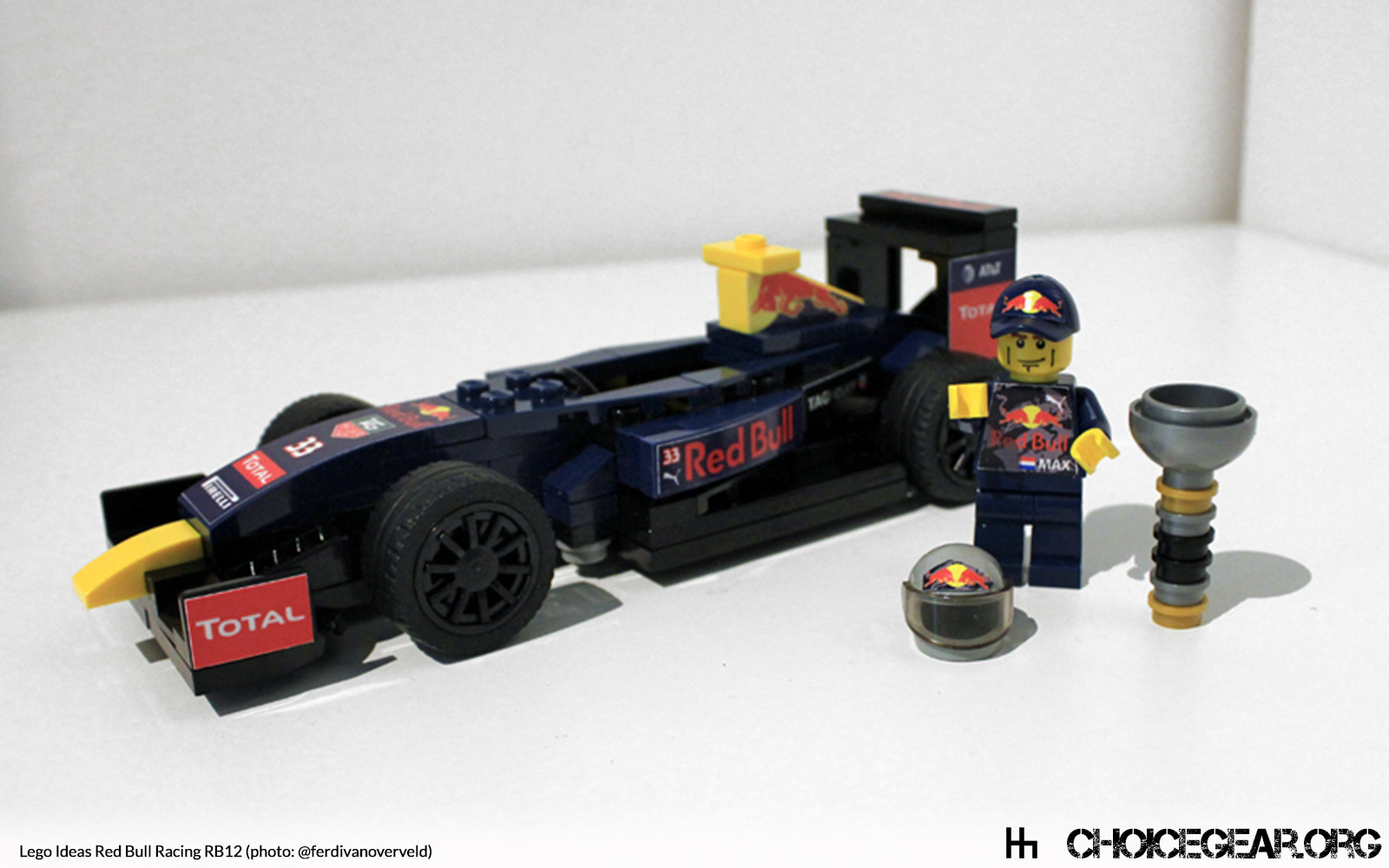 Lego Speed Champions Red Bull Rb12 F1 Car Choice Gear