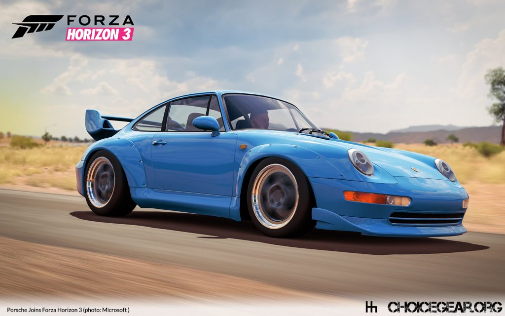 porsche pairs with forza motorsport starting with horizon 3 choice gear. Black Bedroom Furniture Sets. Home Design Ideas