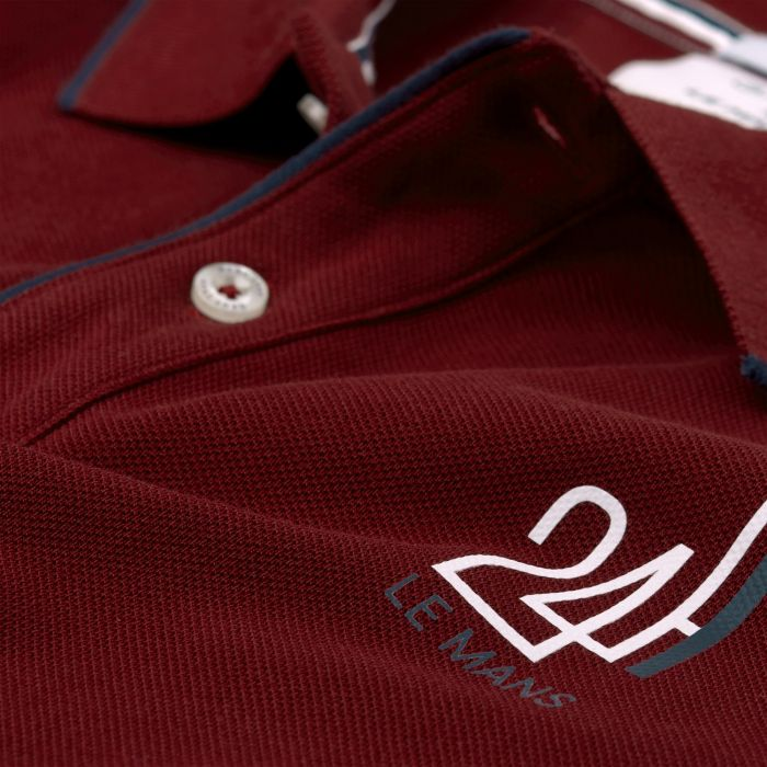 mahogany red le mans rugby polo by gant choice gear. Black Bedroom Furniture Sets. Home Design Ideas