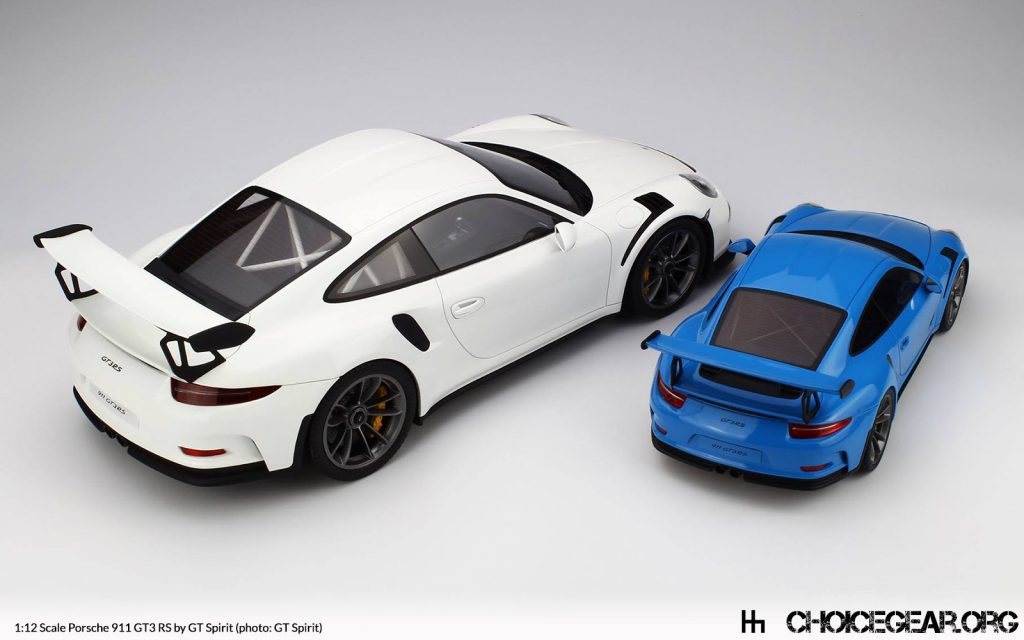 gt spirit confirms 1:12 scale 911 gt3 rs - choice gear