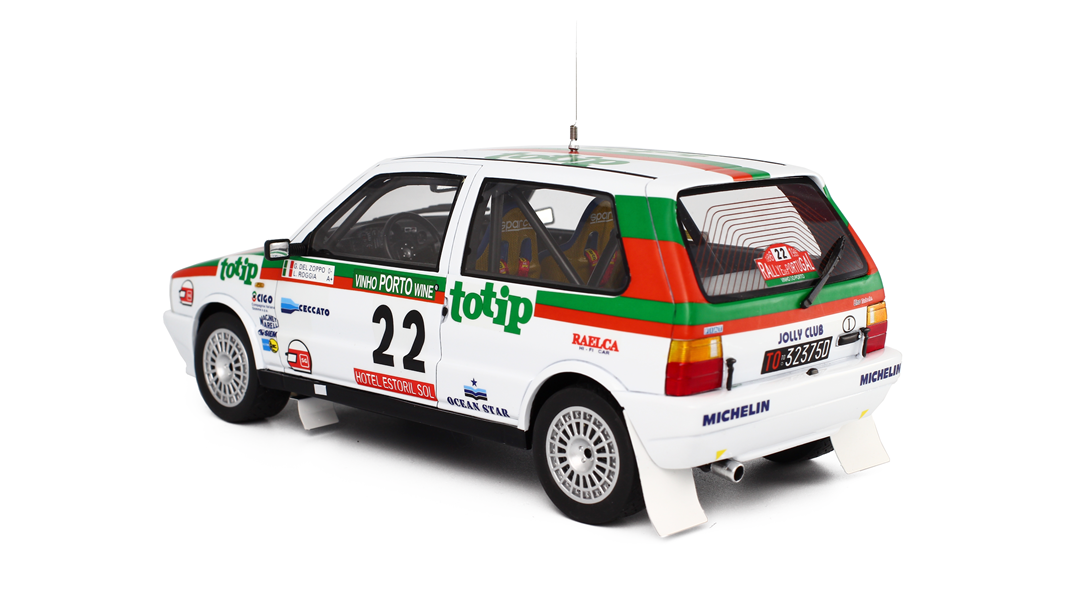 1986 rally de portugal fiat uno turbo by laudoracing for Garage fiat paris 17
