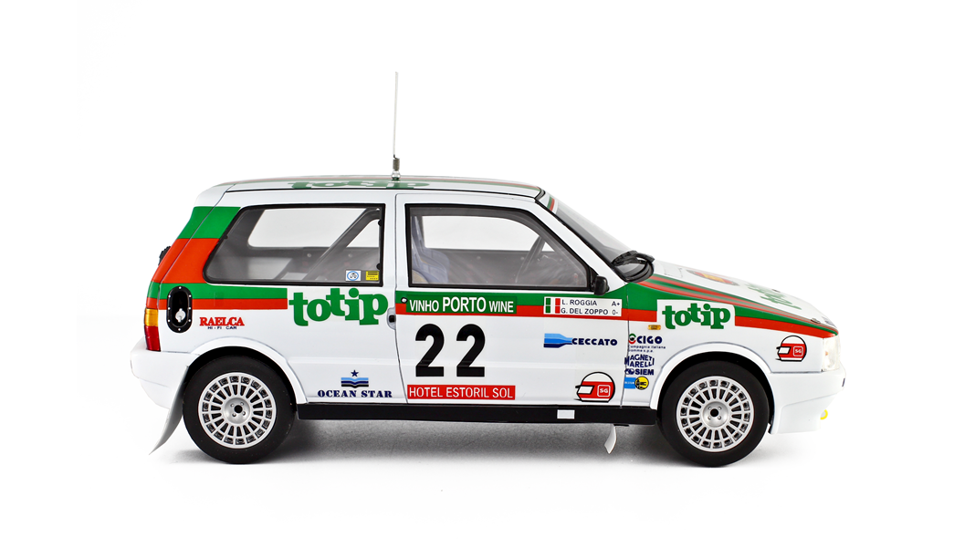 1986 rally de portugal fiat uno turbo by laudoracing for Garage fiat 94