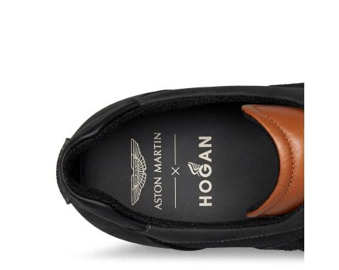 Aston Martin Black Olympia Shoes By Hogan Choice Gear