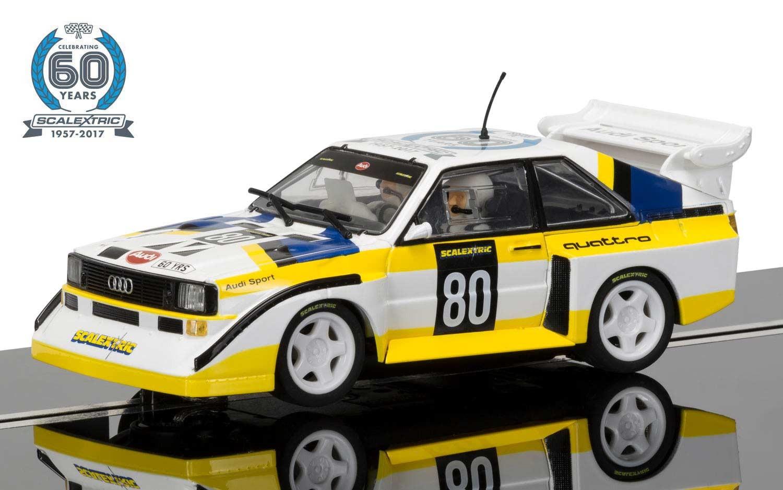 Scalextric 60th Anniversary Collection Audi Sport Quattro