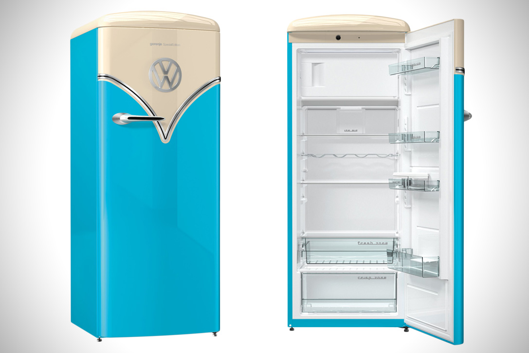 special edition retro vw fridge by gorenje choice gear