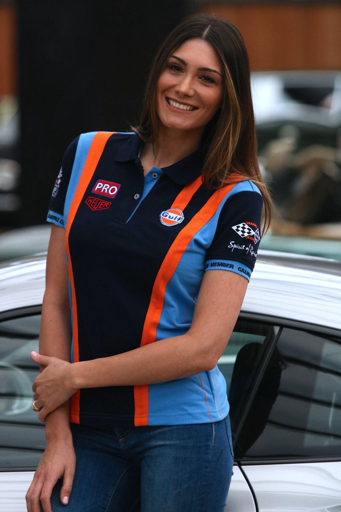 Ladies Gulf Racing Team Polo Shirt By Grandprix Originals Choice Gear