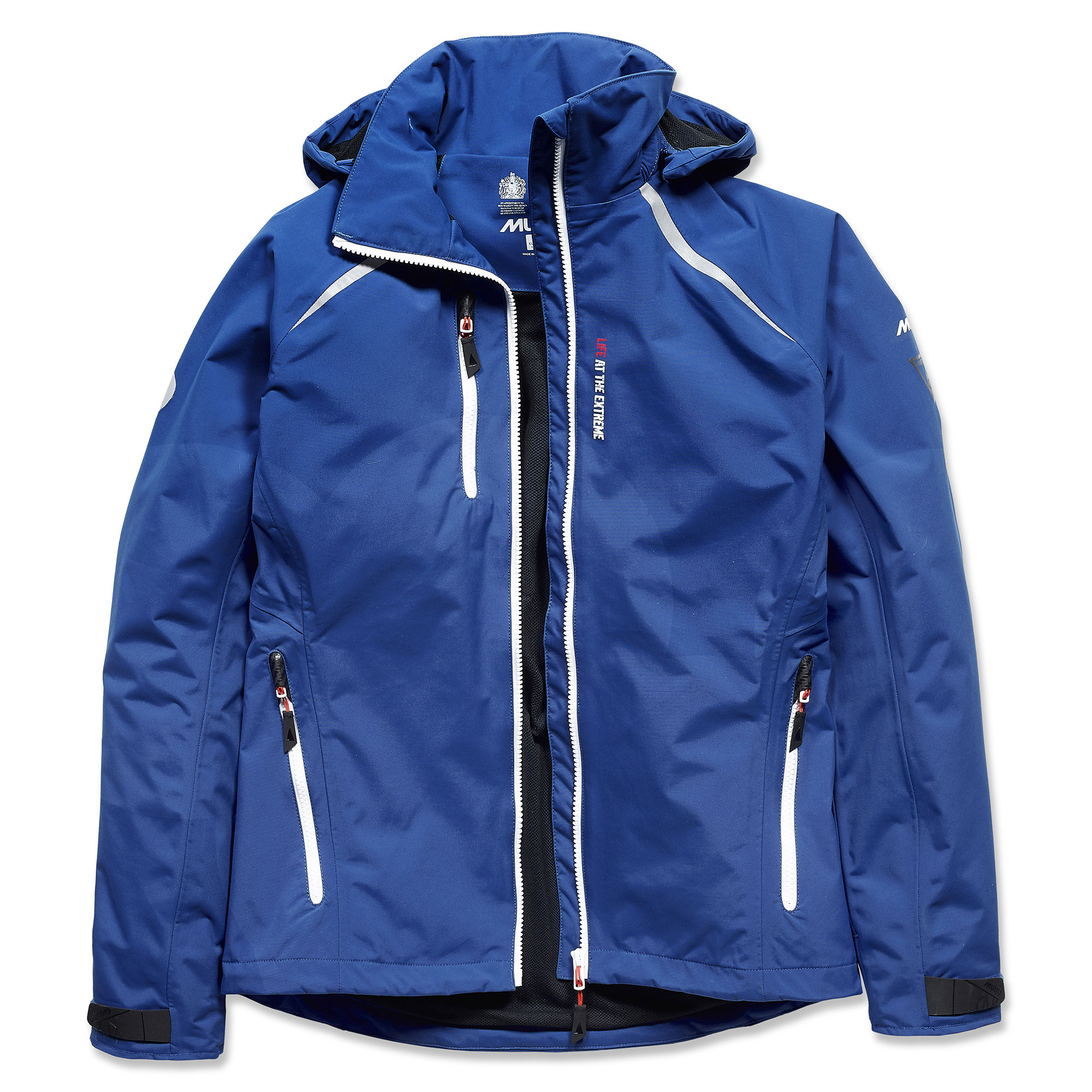 Ladies Surf Blue Volvo Ocean Race Alicante Jacket By Musto Choice Gear