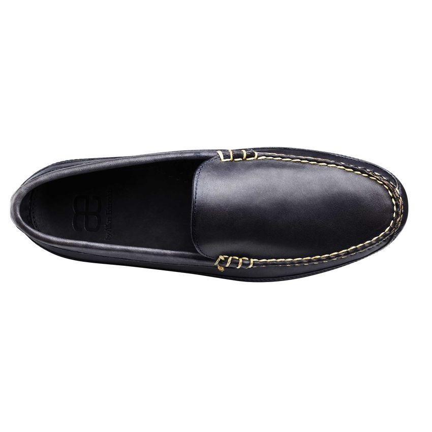 Mens Navy Driving Shoes