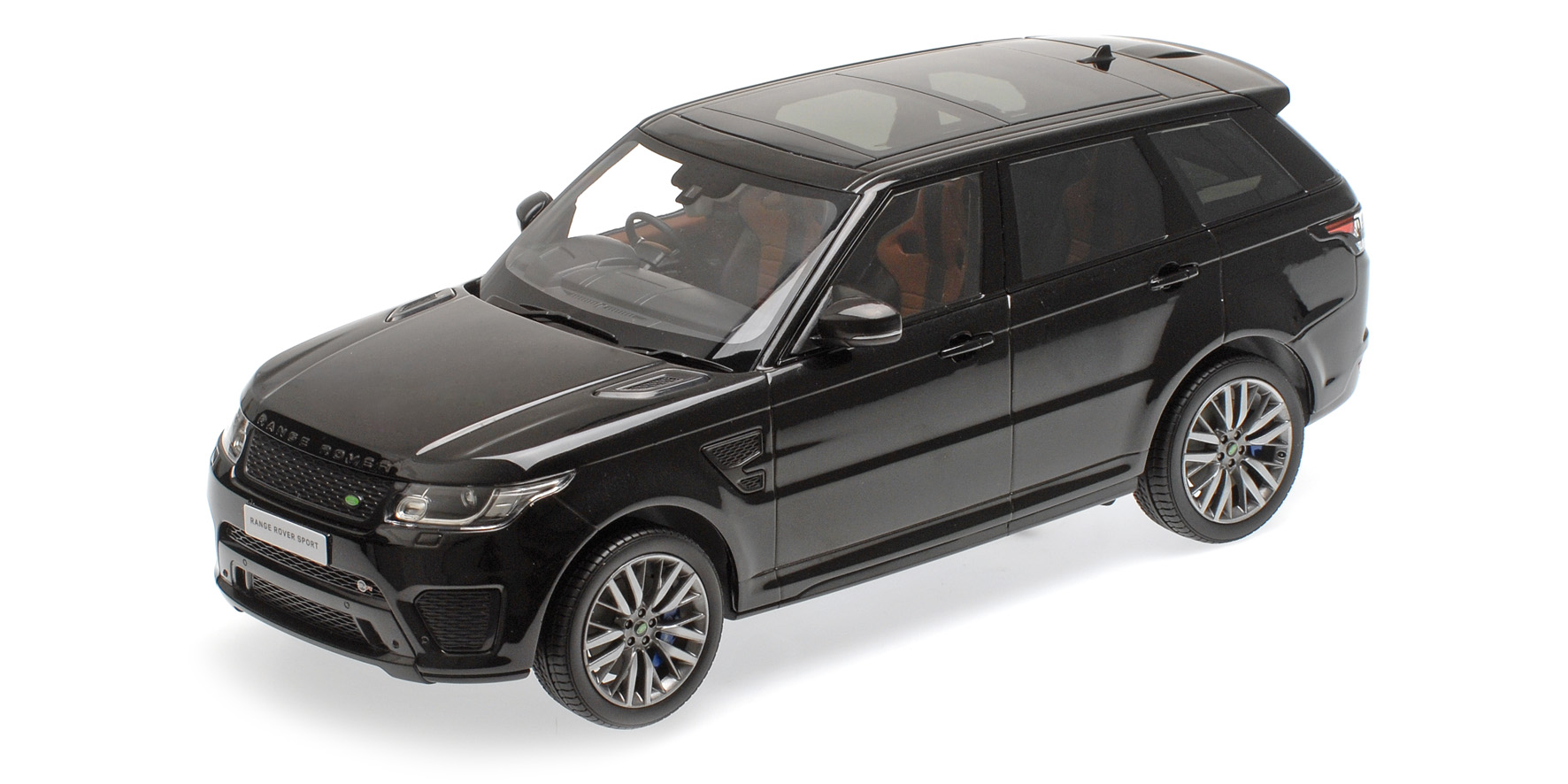 Black Land Rover Range Rover Sport Svr By Minichamps 1 18 Scale Choice Gear