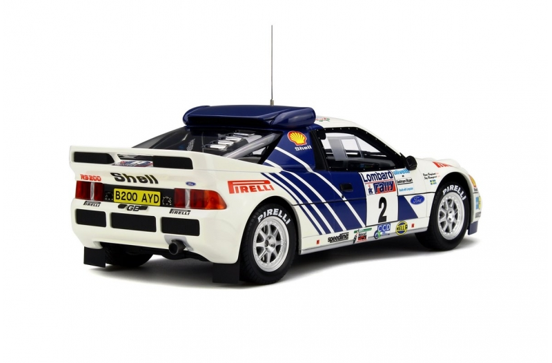 ford rs200 groupe b by otto mobile 1 18 scale choice gear. Black Bedroom Furniture Sets. Home Design Ideas