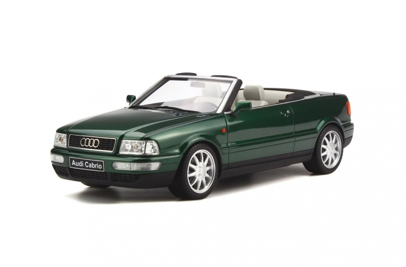 Cactus Green Audi Cabriolet 2 8l By Otto Mobile 1 18