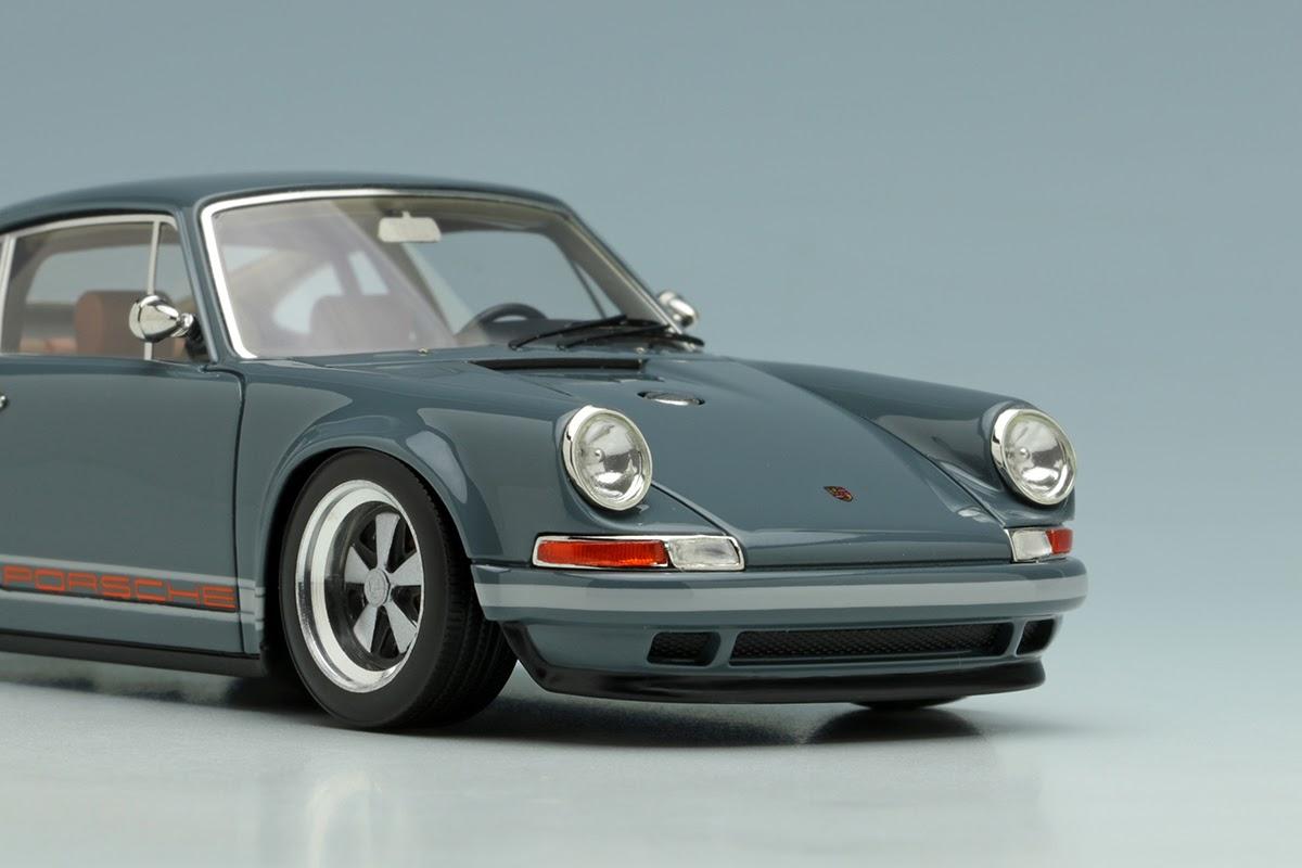 Grey Porsche Singer 911 By Make Up Co Ltd 1 43 Scale
