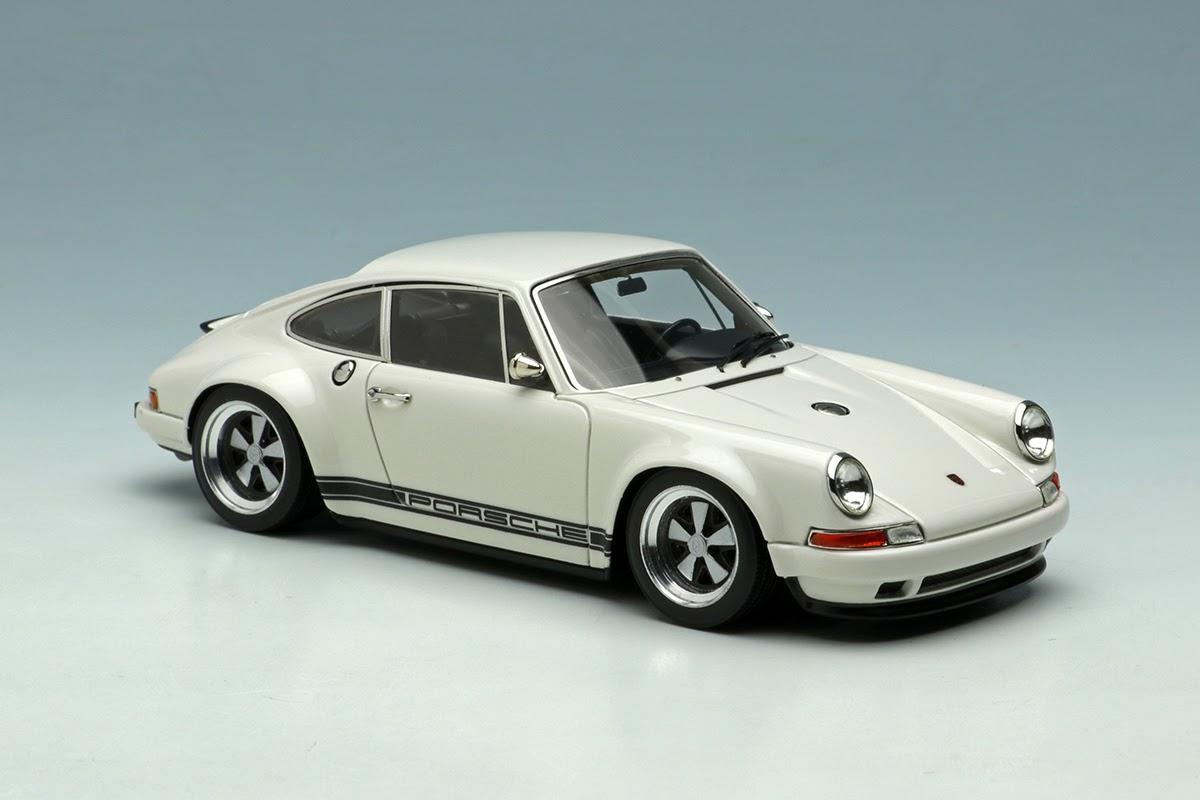 Ivory White Porsche Singer 911 By Make Up Co Ltd 1 43
