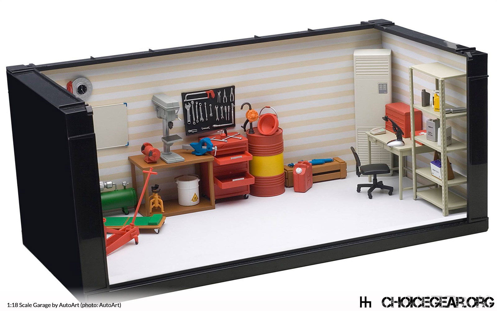 autoart 1 18 scale garage stuff 451 choice gear. Black Bedroom Furniture Sets. Home Design Ideas