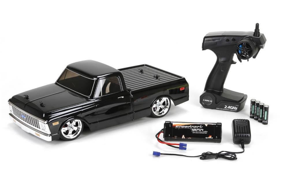1972 Chevy C-10 Pick Up Truck R/C V100-S RTR by Vaterra (1:10 scale ...