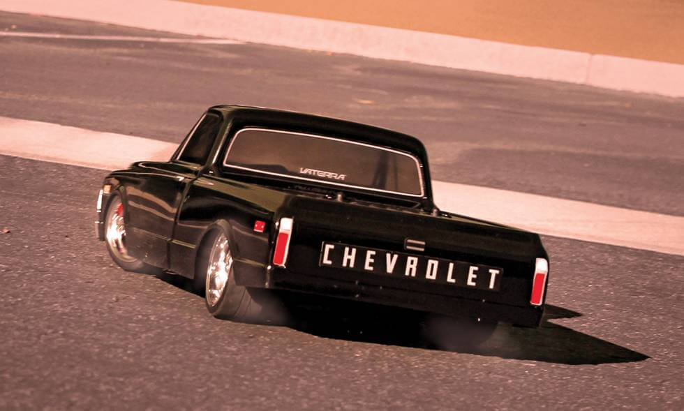 1972 Chevy C 10 Pick Up Truck R C V100 S Rtr By Vaterra 1 10 Scale Choice Gear
