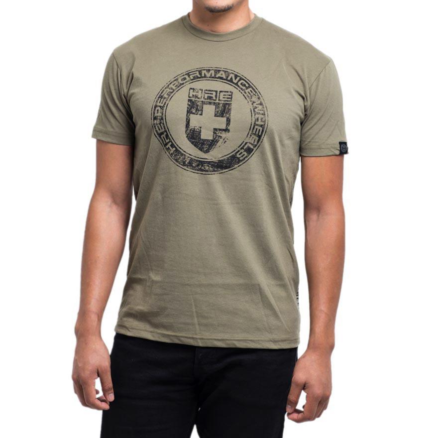 Men s military green worn t shirt by hre wheels choice gear for Green mens t shirt