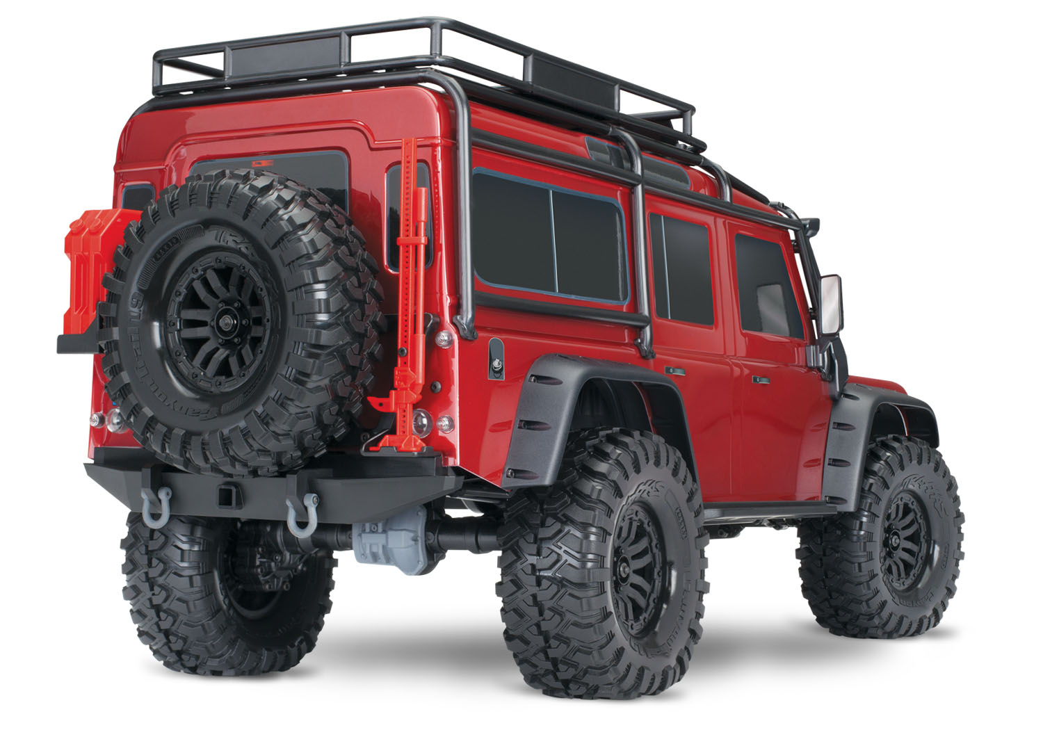 Rc Land Rover Defender Trx 4 By Traxxas 1 10 Scale