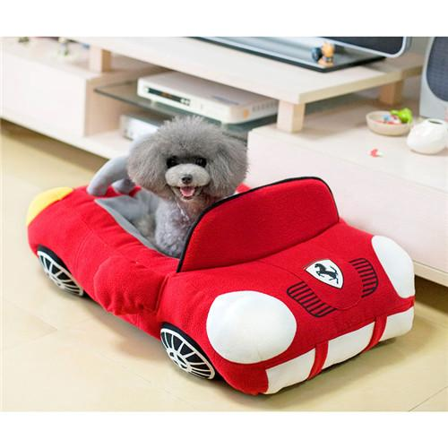 Red Ferrari Supercar Pet Bed By Happy Puppin Choice Gear