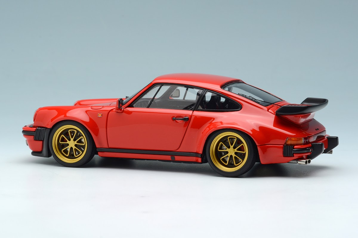 Red 1988 Porsche 930 Turbo With Fifteen52 Outlaw Wheels By