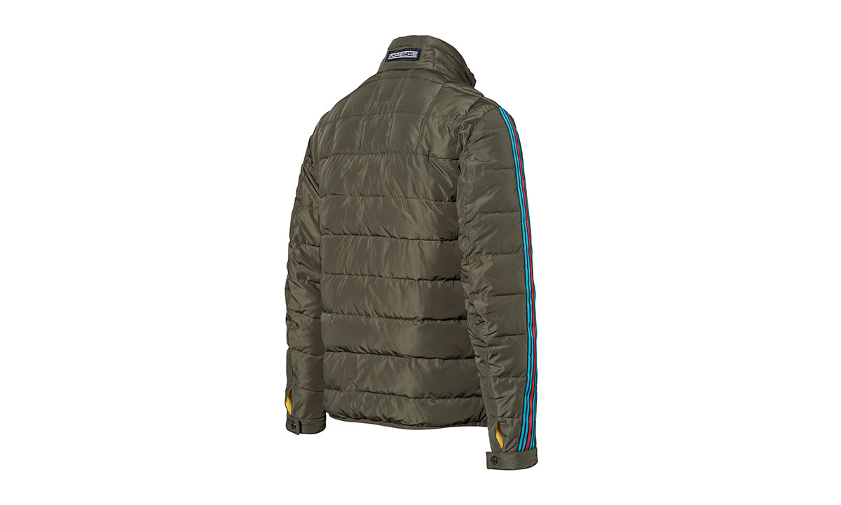 Mens Martini Racing Quilted Jacket by Porsche - Choice Gear : quilted racing jacket - Adamdwight.com