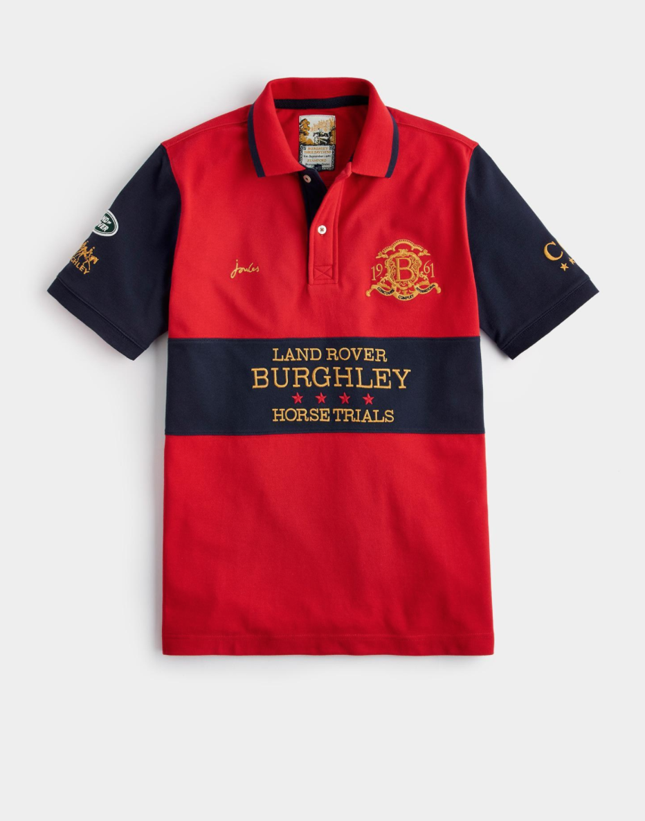Official Burghley Horse Trials 2017 Classic Fit Polo Shirt