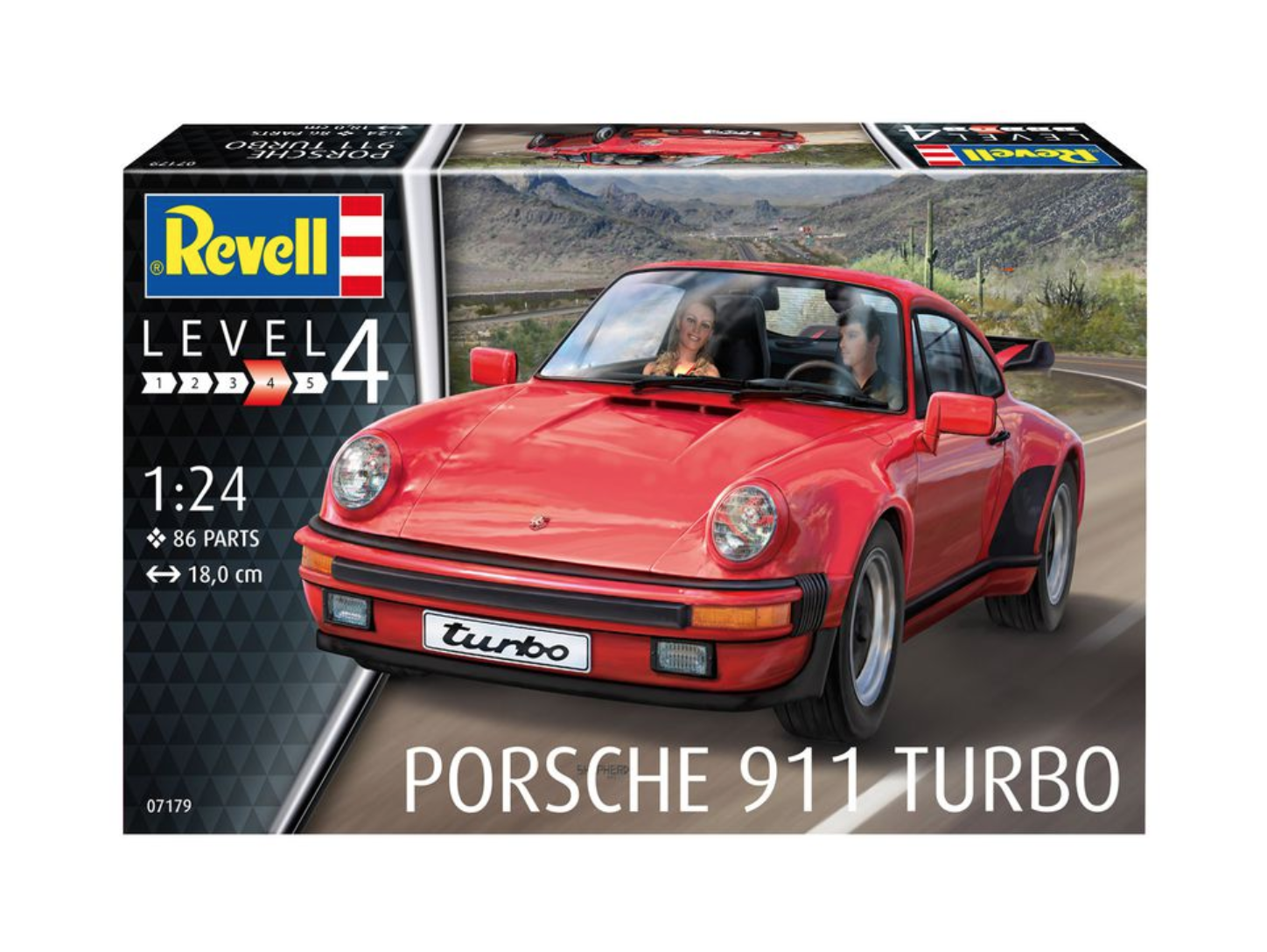Porsche 911 Turbo By Revell 1 24 Scale Choice Gear