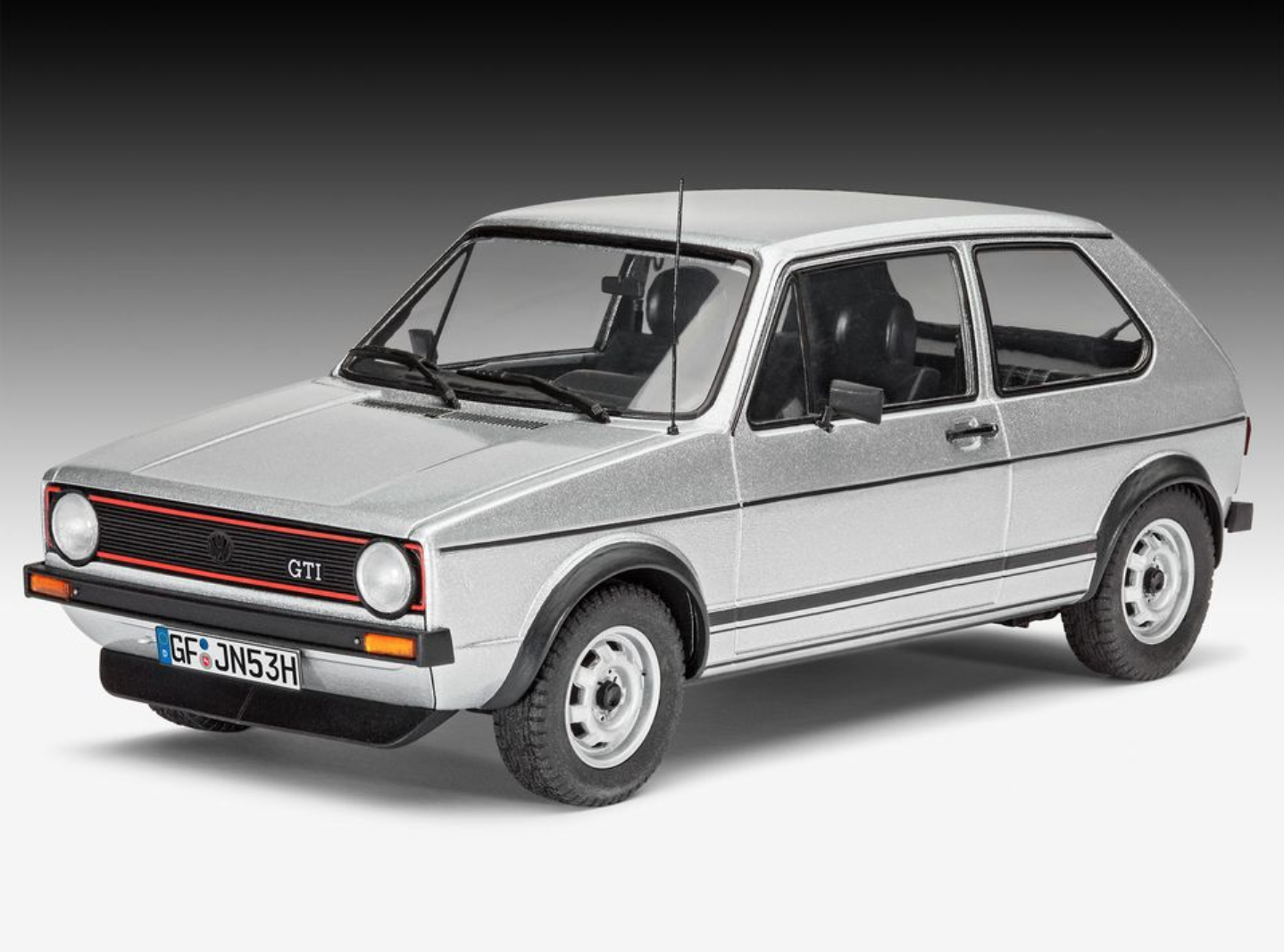 vw golf 1 gti by revell 1 24 scale choice gear. Black Bedroom Furniture Sets. Home Design Ideas