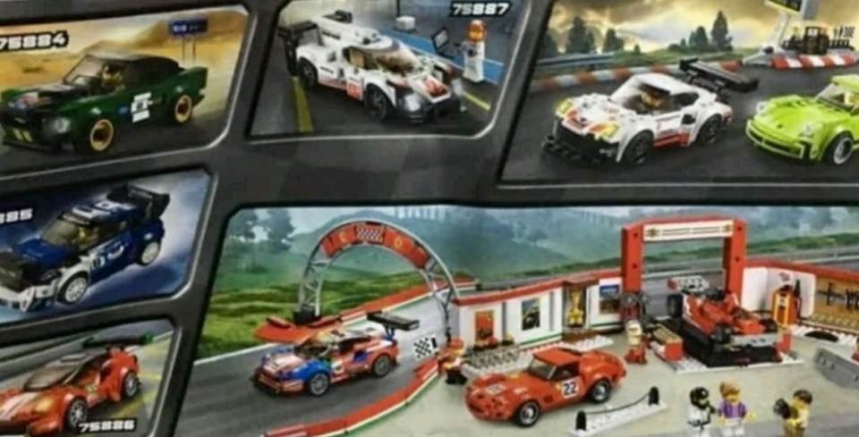 lego speed champions 2018 collection revealed choice gear. Black Bedroom Furniture Sets. Home Design Ideas