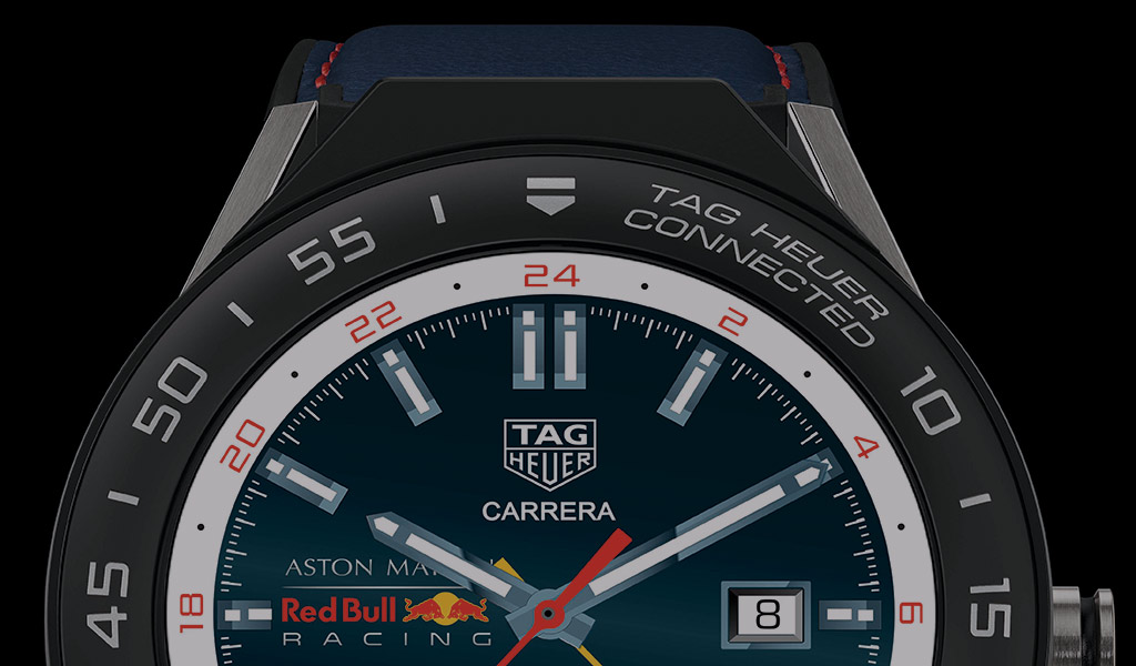 Tag Heuer With New Aston Martin Red Bull Racing Edition Connected Modular Choice Gear